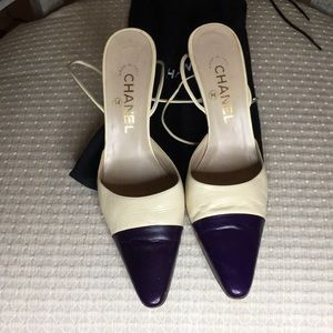 CHANEL SHOES Size 38 Made in Italy